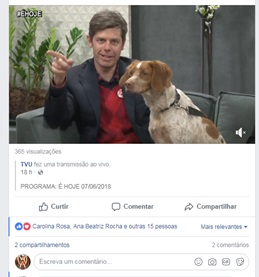 2018 jun Prog de TV É Hoje